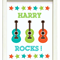 "PERSONALISED ""GUITAR"" PRINT"