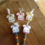 Easter Bunny Toppers & Skinny Treat Bags x 10