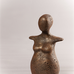 Abundance Goddess Fertility Sculpture Handmade