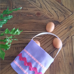 Easter Egg Hunt Tote - Felt, tote, bag, gift