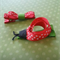 Red Ladybug Hair Clip set