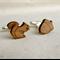 Cufflinks - Wedding cufflinks - Wood Cufflinks - Rustic Wedding - lasercut wood