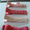 Pink Love Heart Hair clip set (4 clips)