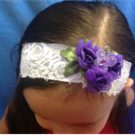 """Perfectly Purple"" headband"
