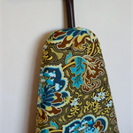 Ironing Board Cover - teal, blue and green floral - Amy Butler - decor