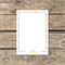 'A Note From...' Spotty Printable Custom Stationery