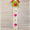 Crochet Birdhouse Wallhanging
