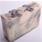 Coconut swirl hand made CP soap