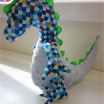 Mr Dino-Roar! Dinosaur Softie