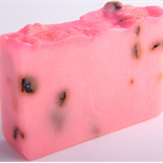 Rose Petal soap - hand made, cold processed