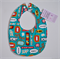 BUY 3 GET 4th FREE Superhero Action Words Bib