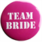 Team Bride Badge - Red