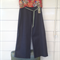 Denim Roll Top Pants