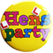 Hens Party Badge - Yellow