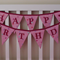 Musk Sticks Happy Birthday Party Bunting (Flags Banner Garland Decoration Gift)