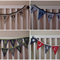 Personalised Bunting Boy (9 Flags)
