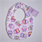 BUY 3 GET 4th FREE Pink Owl Bib