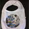 Boys bib with batman applique.  Free post.