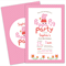Printable Custom Birthday Party Invitation - Peppa Pig