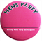 Hens Party Name Tag Badge