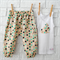 Easter Polka Dot Harem Pants & Singlet - baby, toddler, rabbit, boy, bunny