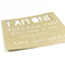 I AM ONE birthday party invitations - cut out - Kraft recycled card stock