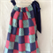 Patchwork print dress. Size 5.