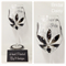 Mother of the Bride - Red Wine Glass Bridal Daisy