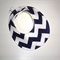 DRIBBLE BIB - Buy 3 get the 4th Free -navy chevron  cool modern Baby shower gift