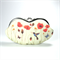 Eyeglasses case clutch purse - Poppy field - summer fields/ wallet