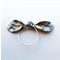 Knot HairTies. Blue. Paris. Roses. Shabby Chic. Pretty.