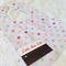 Pastel Polka Dot bib with bamboo backing. Any 3 for $25!