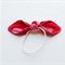 Knot HairTies. Red. Shabby Chic. Madhuri circles. Pretty.