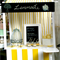 Lemonade Stand with Canopy & blackboard