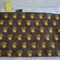 Pineapple absorbent Burp Cloth