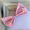 Large Fabric Bow - PInk Spots