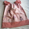 Girl's peasant dress - Size 1 - Pink Little Girls with Pink Spots