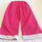 Pink spot long pants size 4
