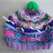Hand knitted 6 month to 2 years baby decorative hat