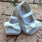 Thomi Lacey Grey soft sole pre-walker baby fabric shoes
