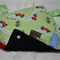 Race Track Green Tag Blankie Security Comforter