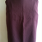 Mulberry purple brown high waisted pencil straight skirt