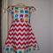 Chevron / Elephants Dress