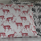 """Richmond Park Deer"" cushion cover"