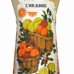 Metro Retro L'Orange Vintage Tea Towel Apron * Birthday Gift Idea