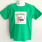 California Print Green Boys T Shirt