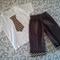 Boy cuffed corduroy pants with back pockets sz 1-6
