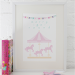 Nursery Print: Merry Go Round