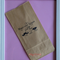 20 x BROWN Paper Lolly Bag - 'Hugs and Kisses from the Mr. and Mrs.'