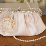 Customised Vintage Inspired Bridal Clutch